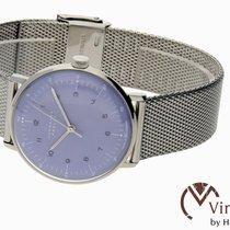 Junghans max bill Handaufzug nowość 2020 Manualny Zegarek z oryginalnym pudełkiem i oryginalnymi dokumentami 027/3600.44