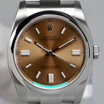Rolex Oyster Perpetual 36 Steel 36mm White Arabic numerals