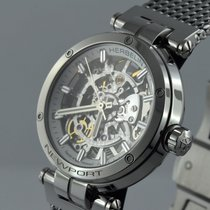 Michel Herbelin Newport (submodel) Steel 35mm Transparent No numerals