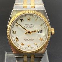 Rolex Datejust Oysterquartz Or/Acier 36mm Blanc Sans chiffres France, Paris