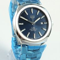 TAG Heuer Link Calibre 5 Steel 41mm Blue No numerals