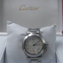Cartier Pasha C Acciaio 35mm Bianco Arabi Italia, Roma