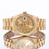 Rolex Day-Date 36 Yellow gold 36mm Champagne United Kingdom, Essex