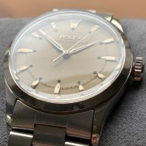 Rolex Bubble Back Steel 34mm White United Kingdom, Glasgow
