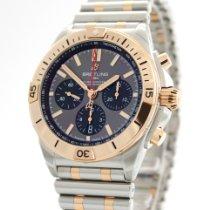 Breitling Chronomat neu 2020 Automatik Chronograph Uhr mit Original-Box und Original-Papieren UB0134101B1U1