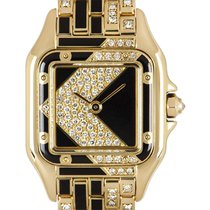 Cartier Yellow gold 22mm Quartz Cartier Panthere pre-owned