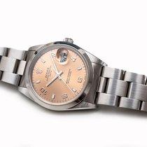 Rolex Oyster Perpetual Date Acier 34mm Bronze Sans chiffres France, Paris