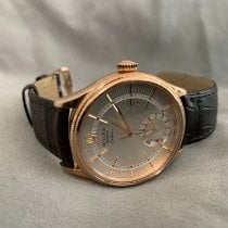 Rolex Cellini Dual Time 50525 Very good Rose gold 39mm Automatic