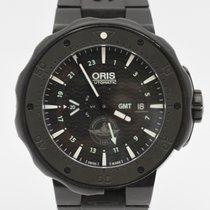 Oris Force Recon GMT Titanium 49mm Black Arabic numerals