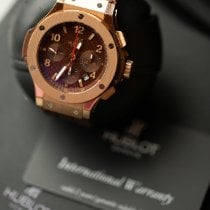Hublot Big Bang 44 mm Rose gold Brown Roman numerals