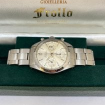 Rolex Chronograph Steel 36mm Silver No numerals