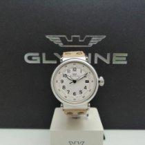 Glycine F 104 Acero 40mm Blanco Arábigos