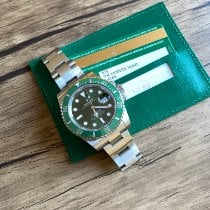 Rolex Steel 40mm Green No numerals United States of America, California, Sunnyvale