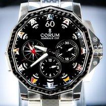 Corum Admiral's Cup Challenger Steel 44mm Black No numerals