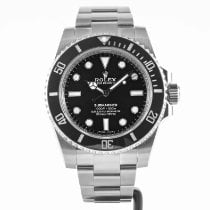 Rolex Submariner (No Date) Steel 40mm Black No numerals United States of America, Massachusetts, Boston