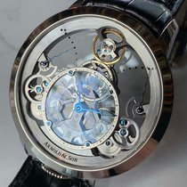 Arnold & Son Time Pyramid Steel 44.6mm Transparent United States of America, California, Chantilly