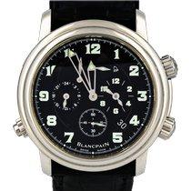 Blancpain Léman Réveil GMT 2041-1130M-53B Veldig bra Stål 40mm Automatisk