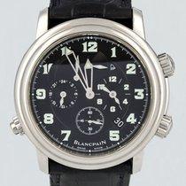 Blancpain Léman Réveil GMT 2041-1130M-53B Très bon Acier 40mm Remontage automatique