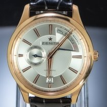Zenith 18.2120.685/02.m2120 Or rose Captain Power Reserve 40mm occasion
