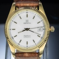 Zenith Or jaune Remontage automatique Blanc Romains 35.5mm occasion