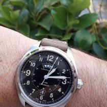 Hamilton Khaki Field Day Date Acier 42mm Noir Arabes