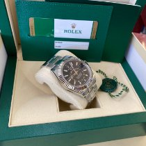 Rolex Sky-Dweller Steel 42mm Black No numerals United States of America, New Jersey, Totowa