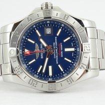 Breitling Avenger II GMT Staal 43mm Blauw Geen cijfers Nederland, Alkmaar