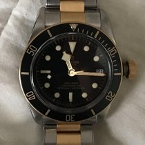 Tudor 79733N Or/Acier 2015 Black Bay S&G 41mm occasion
