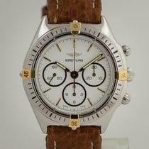 Breitling Callisto pre-owned 36mm White Chronograph Leather