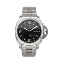 Panerai Luminor 1950 3 Days GMT Power Reserve Automatic PAM00347 pre-owned
