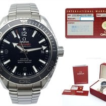 Omega Seamaster Planet Ocean Steel 42mm Black Arabic numerals