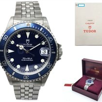 Tudor Submariner Steel 36mm Blue No numerals