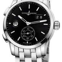 Ulysse Nardin Dual Time 3343-126-7/92 Very good Steel 42mm Automatic