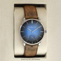 H.Moser & Cie. Venturer Oro blanco 43mm Azul