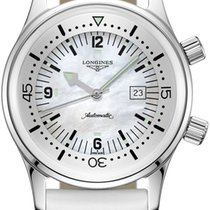 Longines Legend Diver Steel 36mm Mother of pearl United States of America, New York, Airmont