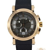 Breguet Or rose Remontage automatique 42mm occasion Marine