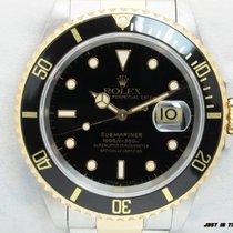 Rolex Submariner Date usato 40mm Nero Oro/acciaio
