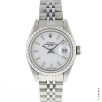 Rolex Oyster Perpetual Lady Date Staal 26mm Wit Nederland, Maastricht