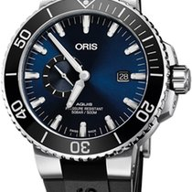 Oris Aquis Small Second 74377334135RS new
