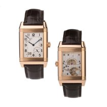 Jaeger-LeCoultre Q3002401 Or rose 2006 Reverso Grande Date 46.5mm occasion
