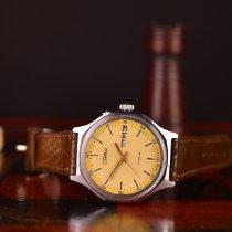Slava Octagon Beige-Yellow Wristwatch 1979 pre-owned