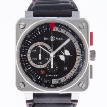 Bell & Ross BR 01-94 Chronographe new 2015 Automatic Chronograph Watch with original box and original papers BR01-94-S B-ROCKET