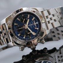 Breitling Chronomat 44 Aço 44mm Azul