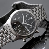 IWC Pilot Spitfire Chronograph Steel 39mm Black Arabic numerals United Kingdom, Oxford