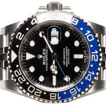 Rolex GMT-Master II Steel 40,00mm Black No numerals