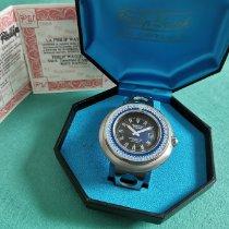 Philip Watch Caribe Steel 50mm Blue No numerals