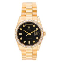 Rolex Day-Date 36 Yellow gold 36mm Black United States of America, Texas, Dallas