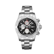 Breitling Super Avenger II Steel 48mm Black No numerals United States of America, New York, Forest Hills