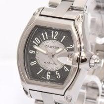 Cartier Roadster Ocel Šedá Arabské