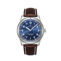 Breitling Navitimer 8 Steel 41mm Blue Arabic numerals United States of America, New York, Forest Hills